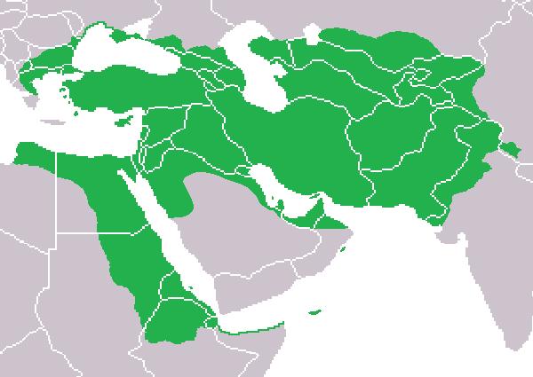 Lokasi Kekaisaran Persia