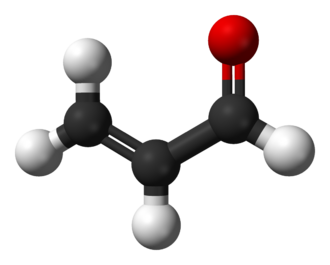 Acrolein - Image: Acrolein 3D balls
