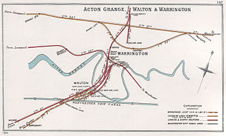 Birkenhead Railway - Image: Acton Grange, Walton & Warrington RJD 147