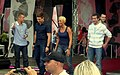 Actress and few actors of TV series of 'M jak Miłość' at III Meeting of Fans of the TV series 'M jak miłość' in Gdynia 2009.jpg