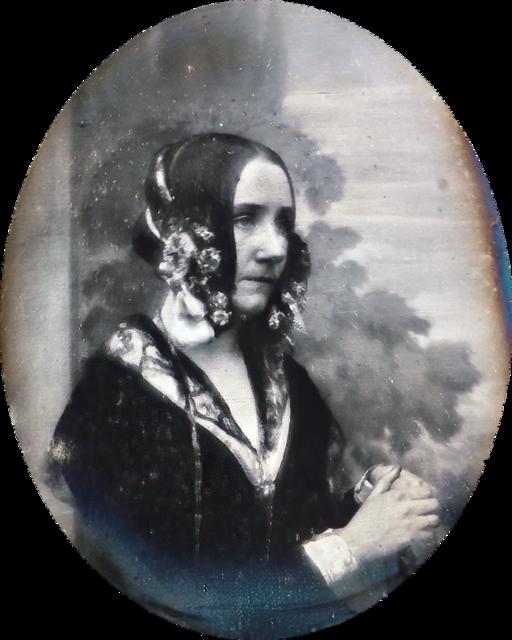 Ada Byron daguerreotype by Antoine Claudet 1843 or 1850 - cropped