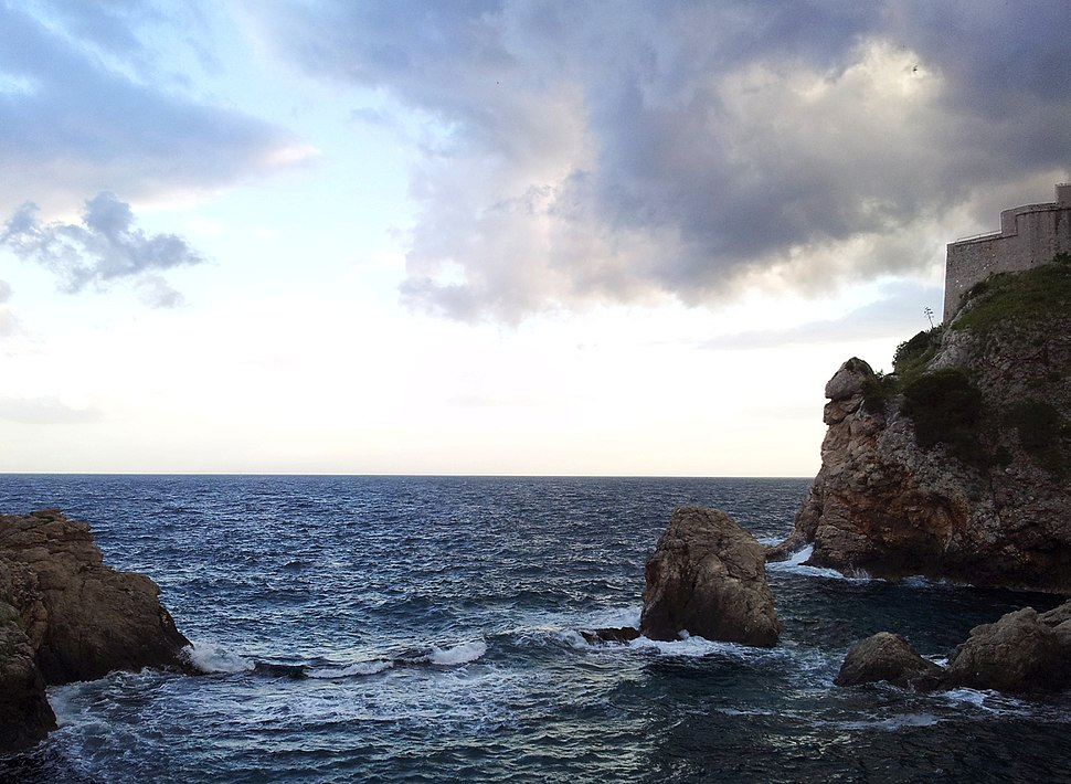 Adriatic Sea from the Dubrovnik Wall