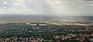 Pisa International Airport - Aerial view