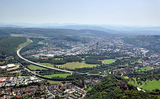 Aerial View Lörrach