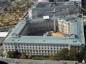 Cannon House Office Building - Image: Aerial View of the Cannon House Office Building November 6, 2015 (23293141849)