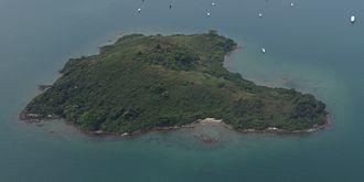 Yeung Chau, Tai Po - Aerial View of Yeung Chau