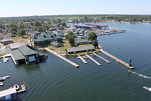 Aerial of the Antique Boat Museum, Clayton, NY 13624.JPG