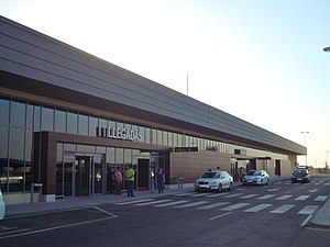 Badajoz Airport - Image: Aeropuert Badajoz