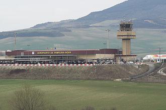 Pamplona Airport - Image: Aeropuerto de Pamplona Noáin