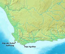 kap der guten hoffnung karte Kap der Guten Hoffnung – Wikipedia