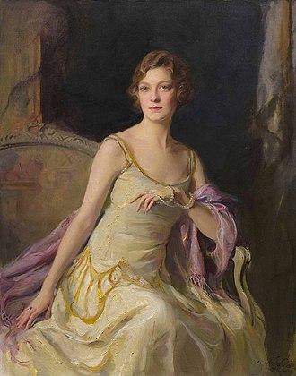 Ailsa Mellon Bruce - Portrait by Philip de László, 1926