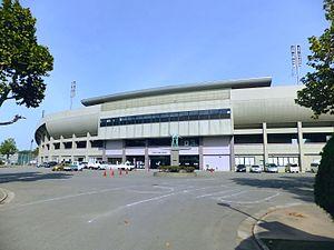 Akita Yabase Stadium - Image: Akita Yabase Athletic Stadium