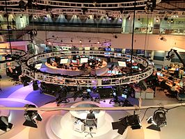 Studio van Al Jazeera English
