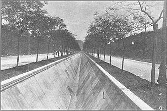 Niterói - Alameda São Boaventura in Fonseca area, 1909