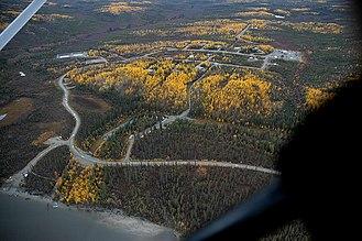 Alatna, Alaska - Image: Alatna, Alaska aerial view