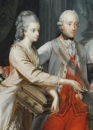 Brabant Revolution - Maria Christina and Albert Casimir of Teschen, joint Governors-General of the Austrian Netherlands from 1780 to 1793