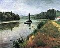 Albert Marquet, 1937 - Remorqueur sur la Seine à Méricourt.jpg