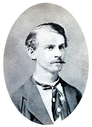 Albert Parsons - Image: Albert Parsons portrait