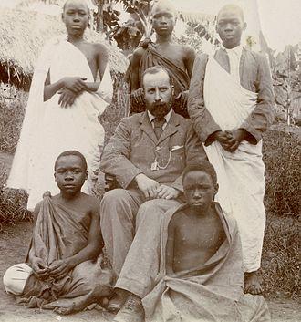 Albert Ruskin Cook - Albert Ruskin Cook in Uganda, 1897
