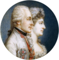 Albert of Saxony-Teschen and his wife Marie Christine of Austria - Hofburg.png