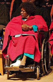 Albertina Sisulu South African anti–apartheid activist