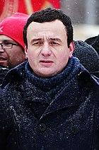 Photo du dirigeant d'autodétermination Albin Kurti.