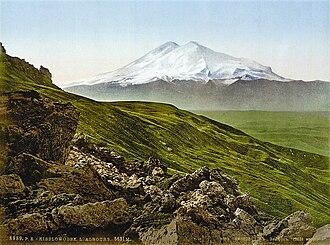 Douglas Freshfield - Mount Elbrus.