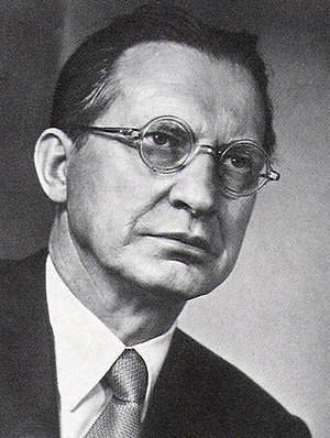 History of the Italian Republic - Alcide De Gasperi, Prime Minister from 1945 to 1953.