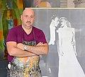 Alejandro Vigilante in his studio.jpg