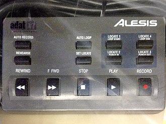 ADAT - Image: Alesis ADAT XT LRC Remote Control
