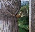 Alesso di benozzo, madonna in trono tra i ss. g. battista, francesco, angeli musicanti e donatore francescano (pala rigoli), 03.jpg