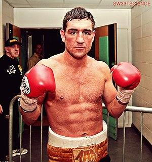 Alex Arthur Scottish boxer