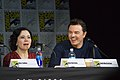 Alex Borstein and Seth MacFarlane SDCC 2017 (36524516106).jpg