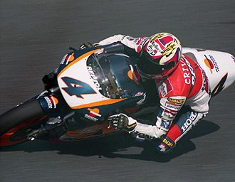 Àlex Crivillé - Crivillé at the 1996 Japanese Grand Prix.