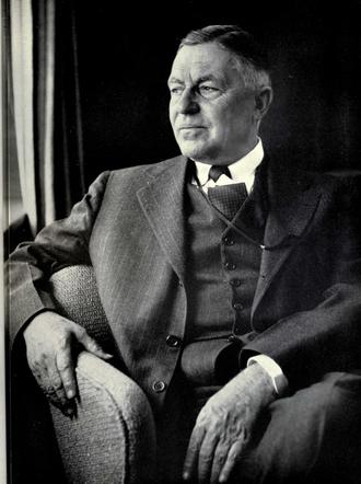 Alexander Grant Ruthven - Ruthven from 1951 Michiganensian