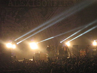 Alexisonfire Canadian post-hardcore band