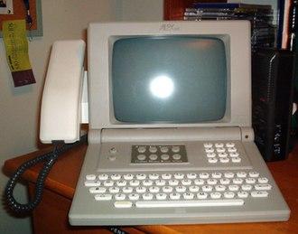 Videotex - An Alex terminal.