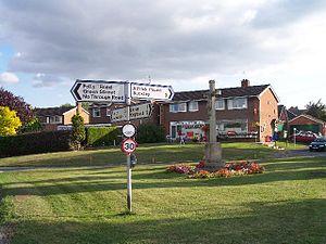 Alfrick - Image: Alfrick Village Green