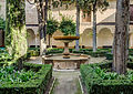 Alhambra Patio de la Lindaraja Nasrid Garden 2014.jpg
