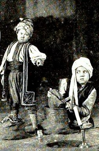 Film Fun - Image: Ali Baba and the Forty Thieves (1918) 1