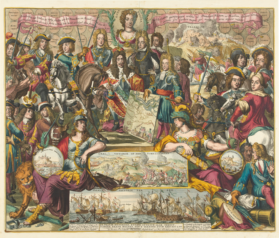 Allegory of the Victory of the Grand Alliance over the French in the Year 1704