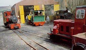 South Tynedale Railway - Image: Alston Shed