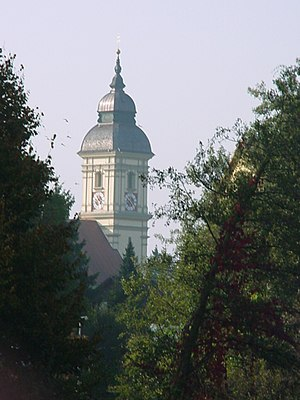 Erding - Image: Altenerding church tower