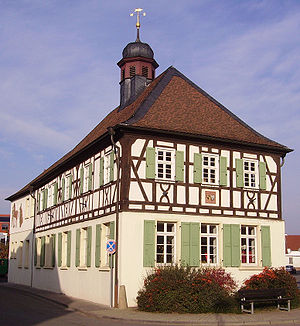 Mutterstadt - Image: Altes Rathaus Mutterstadt 1