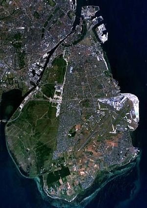 Amager - Aerial view of Amager