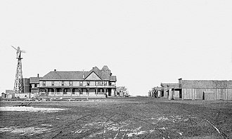 Amarillo, Texas - Amarillo in 1889, three weeks after incorporation