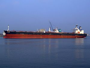 Amba Bhakti - IMO 9144770 - Callsign AUJY p1 at the '7e Petroliumhaven', Port of Rotterdam, Hollad 03-Jun-2007.jpg