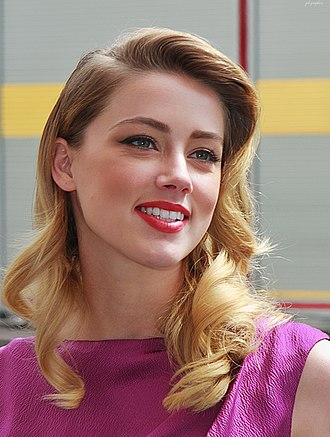 The Playboy Club - Amber Heard played Playboy Bunny Maureen, one of the leading roles in The Playboy Club.