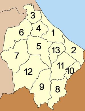 Narathiwat Province - Image: Amphoe Narathiwat