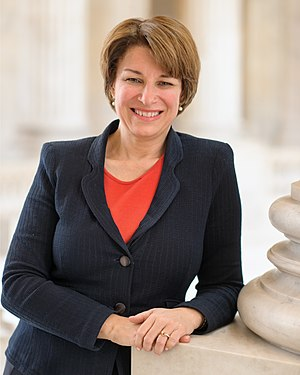 United States congressional delegations from Minnesota - Senator Amy Klobuchar (DFL)